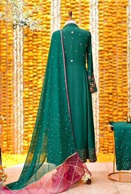 Green-angrakha-Ghazal-one