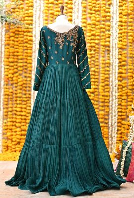 Green-crushed-gown-Laleh-one